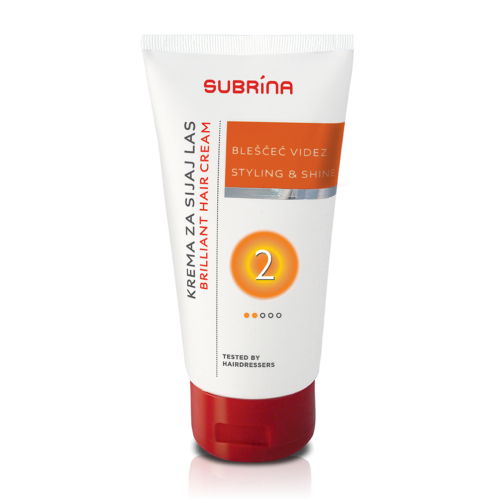 Subrina styling gel styling and shine