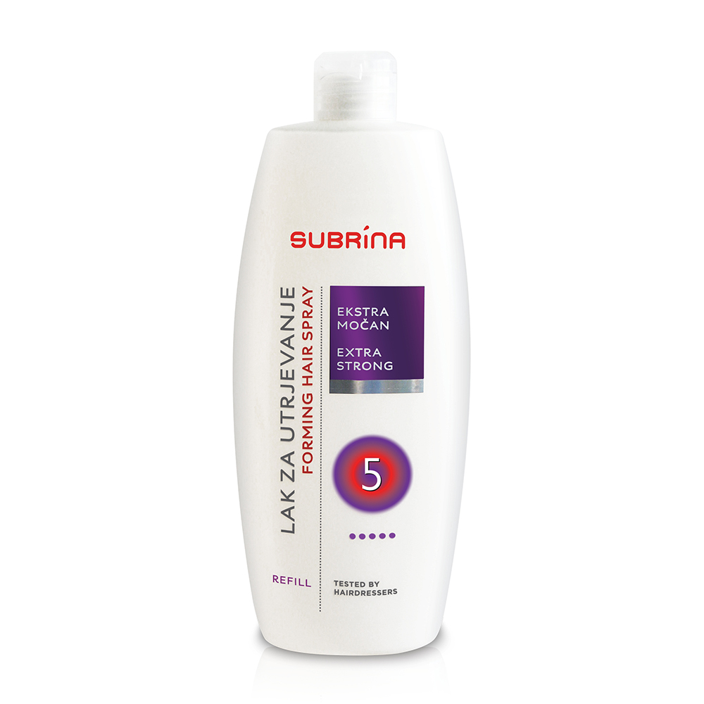 Subrina styling spray extra strong REFILL 500ml